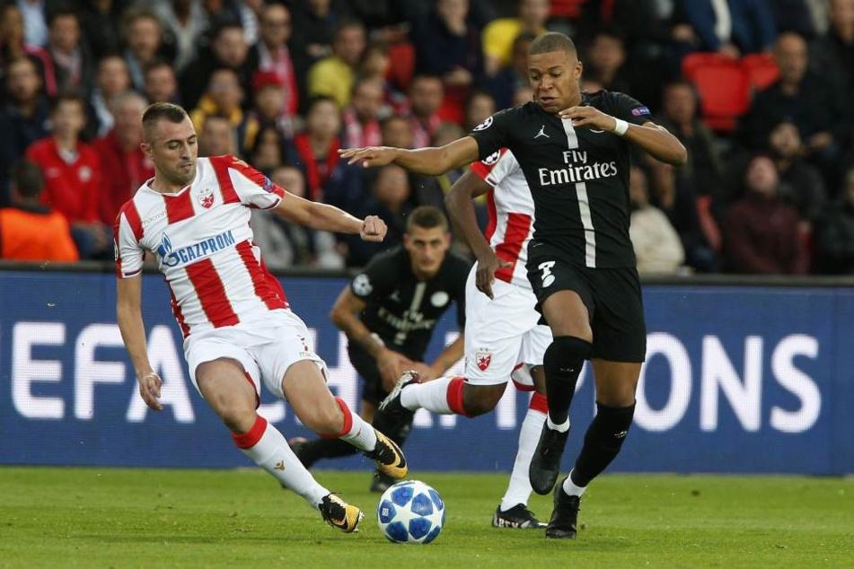 Das CL-Spiel zwischen Paris St. Germain und Roter Stern Belgrad (6:1) am 3. Oktober steht unter Manipulationsverdacht.
