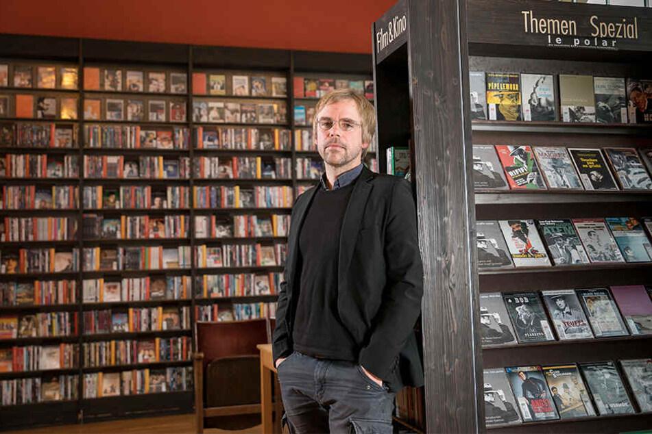Kann vorerst aufatmen: Phase IV-Chef Sven Voigt (43) hat aus seiner Videothek einen Verein gemacht.