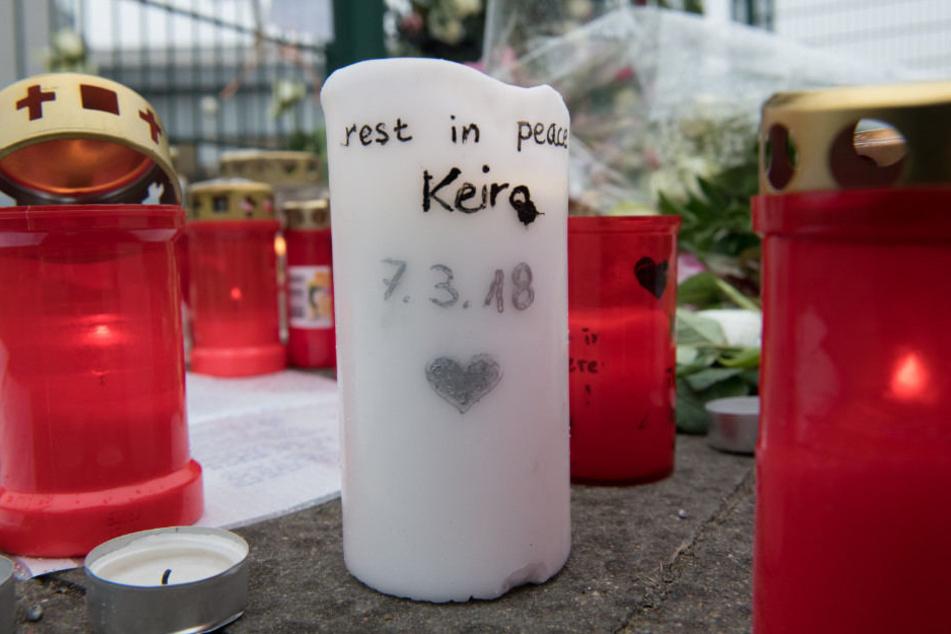 Der Mord an Keira löste große Bestürzung aus.