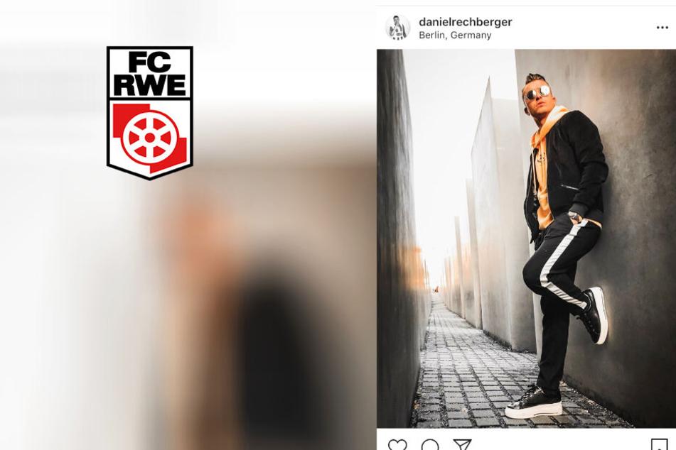 RWE-Spieler posiert lässig vor Holocaust-Mahnmal und sorgt für Ärger