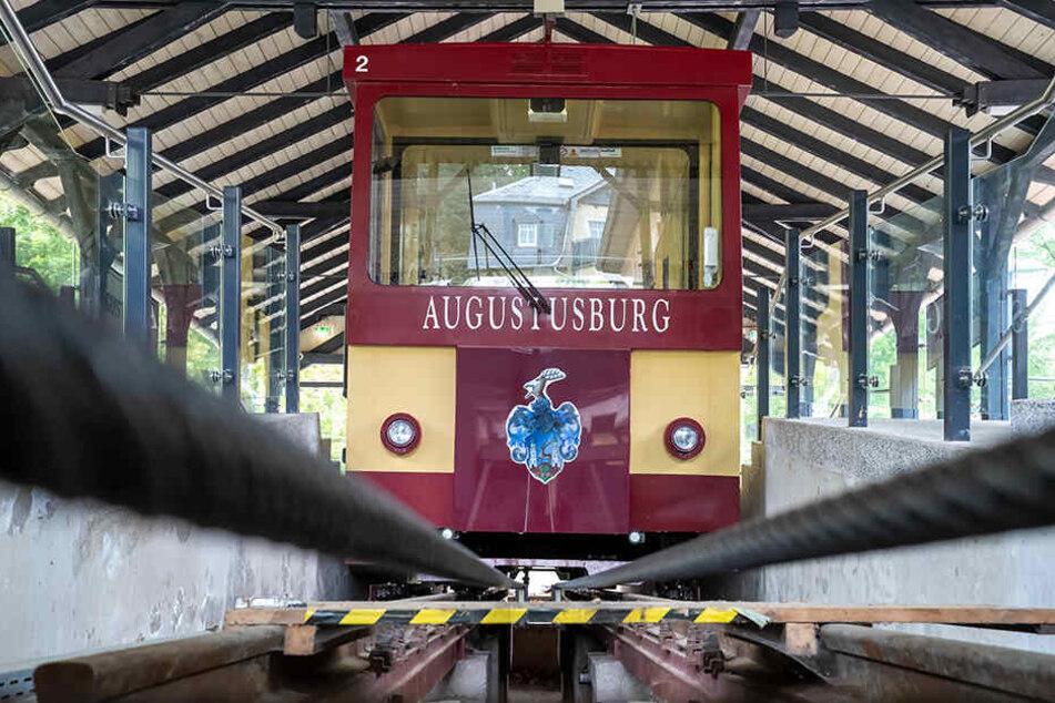 Die Drahtseilbahn Augustusburg bekommt ab Herbst eine umfangreiche Frischzellenkur.