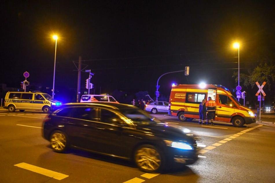 Laut Polizei beging einer der Fahrer einen Vorfahrtsfehler.