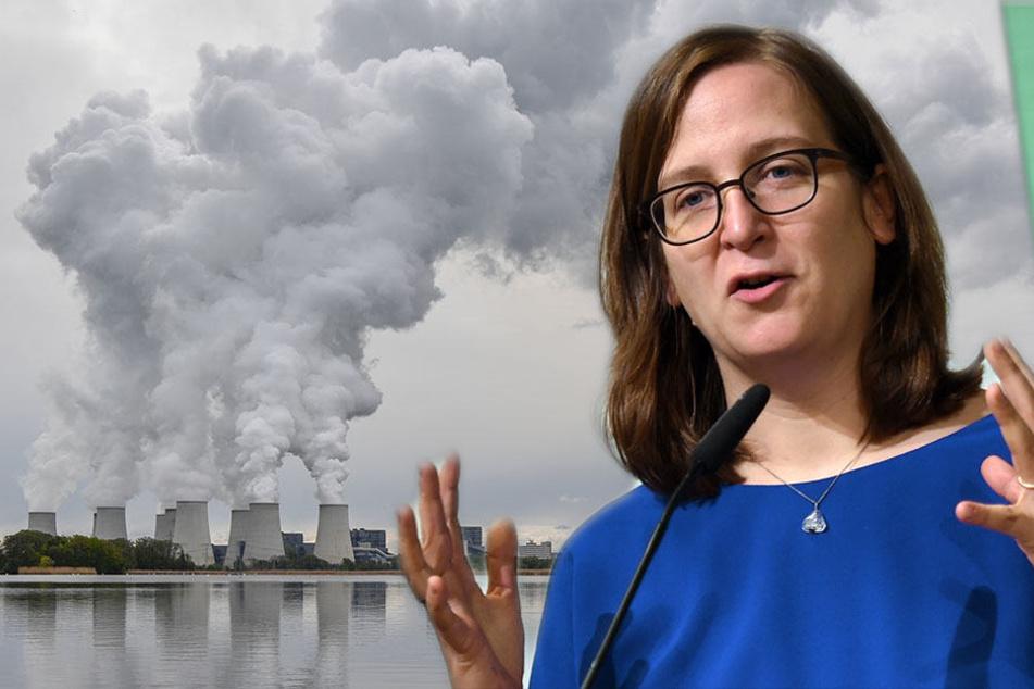 Silke Gebel: Die Verbrennung von Braunkohle schädigt wegen hoher CO2-Emissionen das Klima.