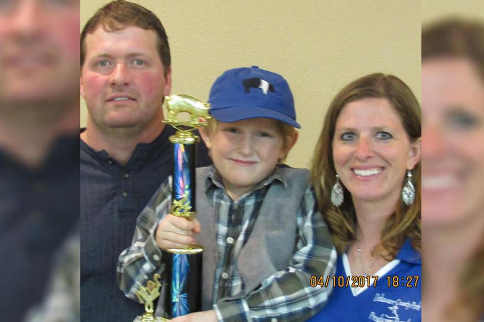 Amy, Todd und ihr Sohn: Viele Bilder auf Facebook zeigen eine scheinbar glückliche Familie.