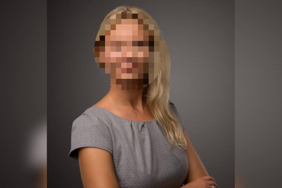Bauunternehmerin Claudia P. (34) wurde in ihrer Wohnung im Leipziger Norden von Vermummten mit Faustschlägen drangsaliert.