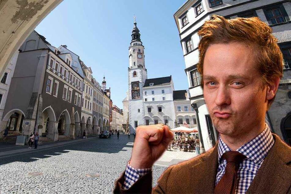 """Görlitz wird zu Berlin: Ab Montag dreht Schauspiel-Star Tom Schilling (37) hier den Kästner-Klassiker """"Fabian"""", der im Berlin der 1930er Jahre spielt."""