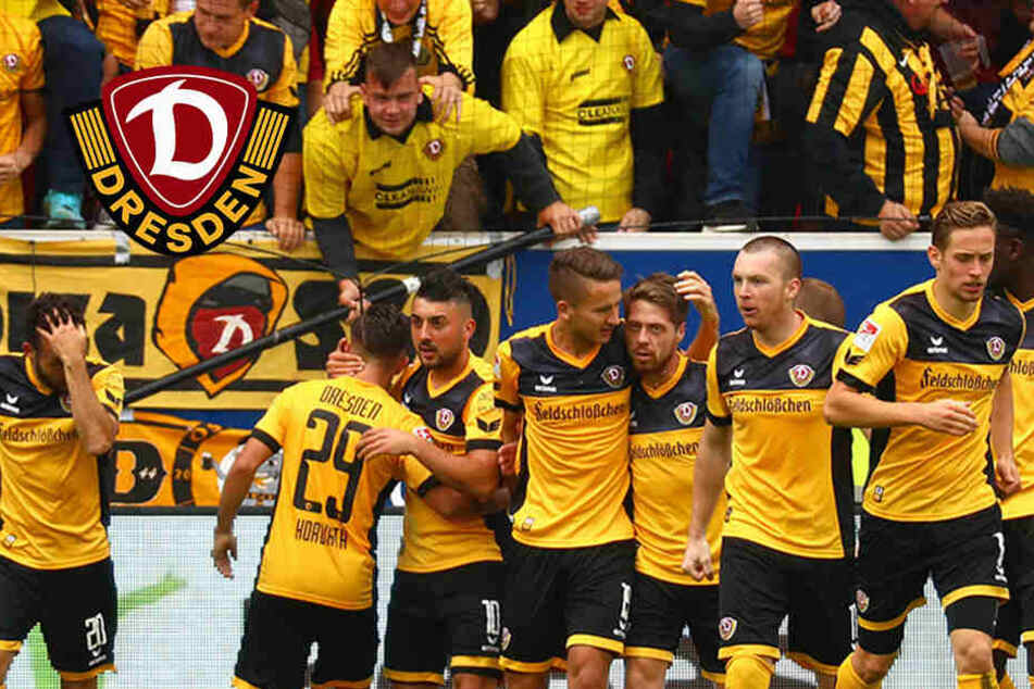 Dynamo gelingt in Regensburg erster Auswärtssieg!