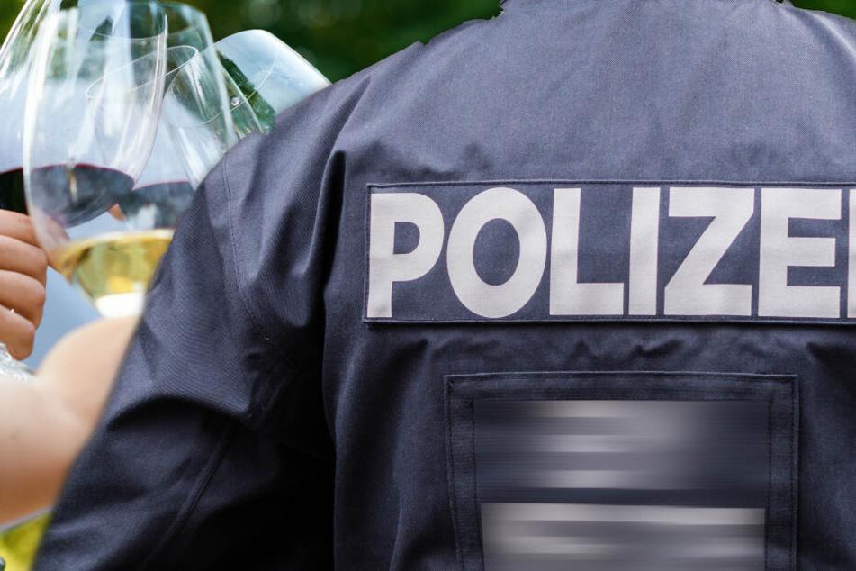 Halsschlagader knapp verfehlt: Mann nach Messerattacke auf Winzerfest schwer verletzt