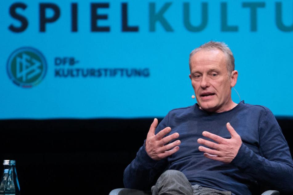 Freiburg-Coach Streich sorgt auf DFB-Event wieder für viele Lacher