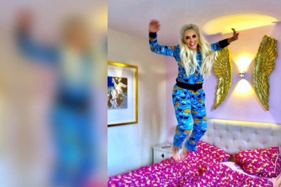 Schlafzimmer-Bild: So startet Daniela Katzenberger in den Samstag
