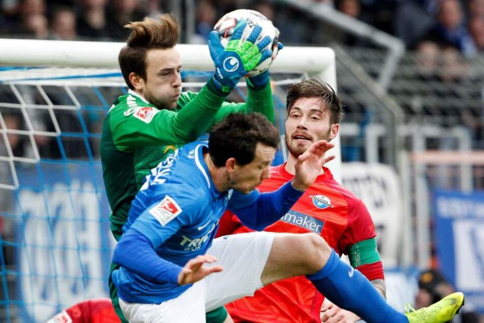 Bei Leopold Zingerle ist der Ball zumeist in sicheren Händen.