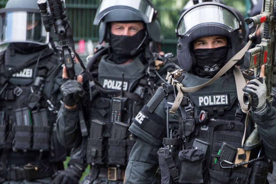 Mitglieder des SEK wurden festgenommen. (Symbolfoto)