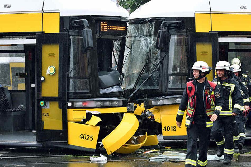 Hat eine falsch gestellte Weiche zum Tram-Unglück in Prenzlauer Berg geführt?