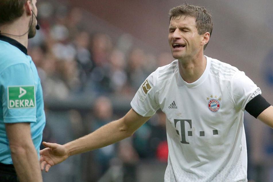 Streit-Thema Thomas Müller: Der ewige Bayern-Star und Coach Kovac können nicht so richtig miteinander.