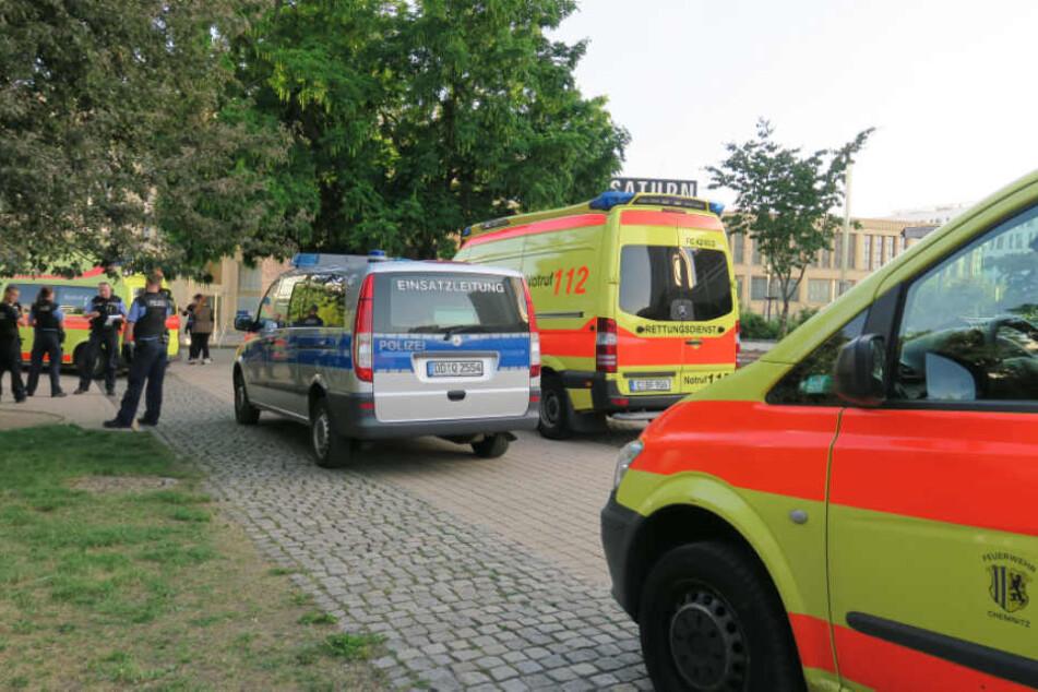 Am Montagabend gab es mehrere Auseinandersetzungen im Stadthallenpark.