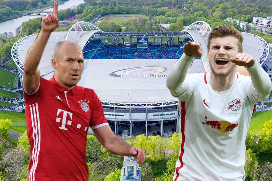 Einer der ältesten Bayern-Spieler (Arjen Robben, 33) trifft auf einen der jüngsten RB-Spieler (Timo Werner, 21). Setzt sich am Samstag Erfahrung oder jugendliche Spritzigkeit durch?
