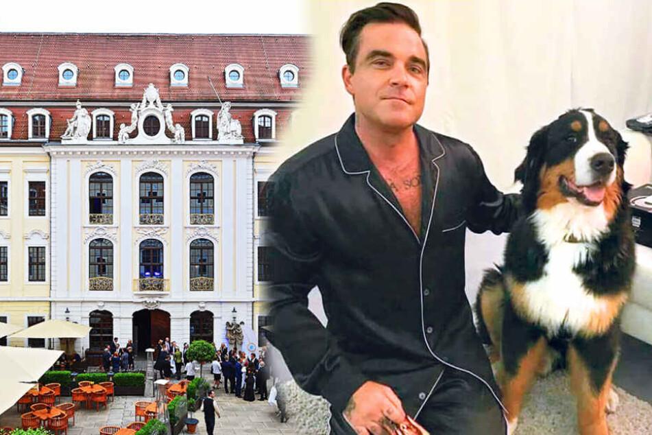 Diva mit Extra-Wünschen? So ist Robbie Williams wirklich als Gast!