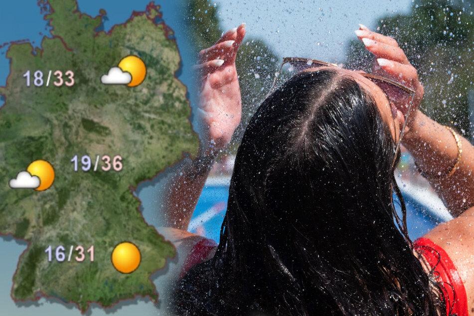 Wetter: Hitze geht noch weiter, Temperaturen steigen bis auf fast 40 Grad!
