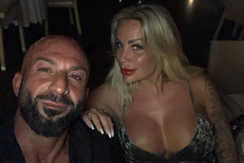Antonino und Gina-Lisa glücklich vereint.