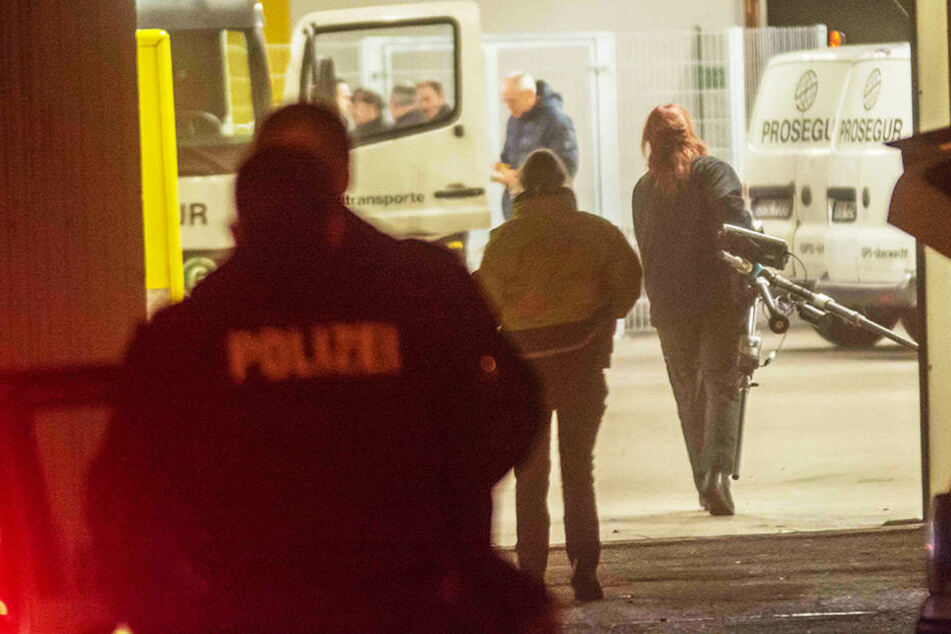 In Salzwedel wurde ein Geldtransport-Unternehmen überfallen.