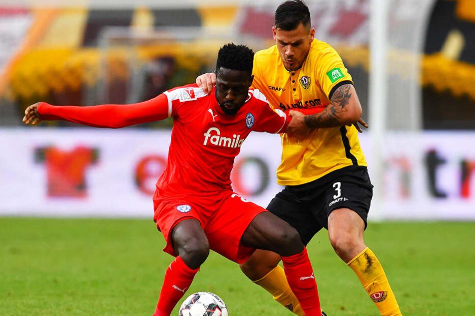 Dynamo-Land in Kiel? Vergangene Saison wurde im Norden glatt mit 0:3 verloren. 2015 in der 3. Liga wurde dagegen in Kiel 2:1 gewonnen. Es war allerdings auch der einzige Erfolg in sieben Auswärtspartien bei den Störchen.