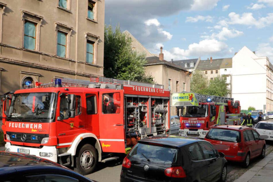 Auf der Lessingstraße brannte erneut ein leerstehendes Gebäude. Die örtliche Feuerwehr war glücklicherweise schnell zur Stelle.