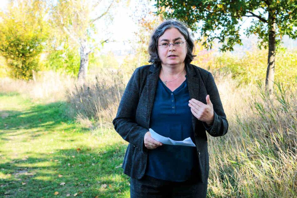 Umweltbürgermeisterin Eva Jähnigen (54, Grüne) kämpft für den Südpark. Jetzt ist sie jedoch mit einer 1,5 Millionen Euro teuren Altlastensanierung konfrontiert.