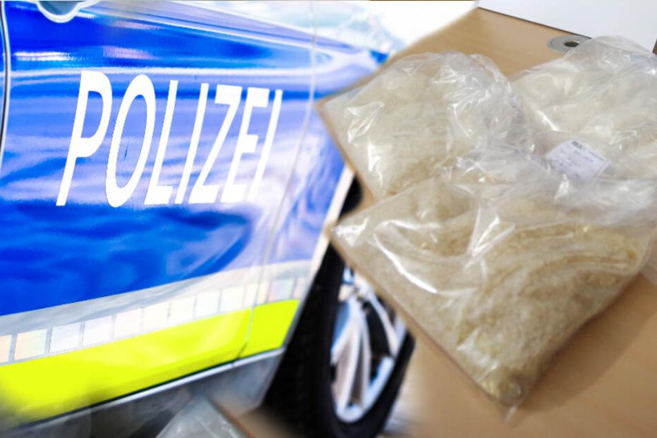 Drogenfund! Mann rammt Polizeiauto und liefert sich Verfolgungsjagd