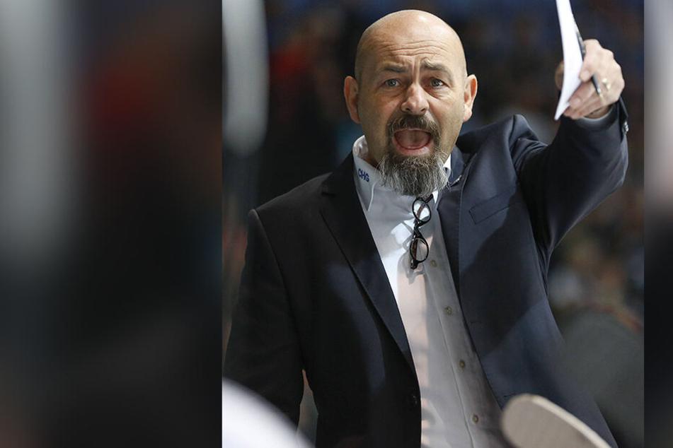 Daniel Naud wird neuer Eispiraten-Coach, vorerst bis Saisonende.