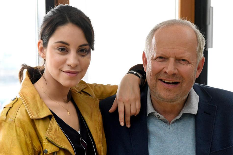 """Almila Bagriacik und Axel Milberg ermitteln erstmals zusammen im """"Tatort""""."""