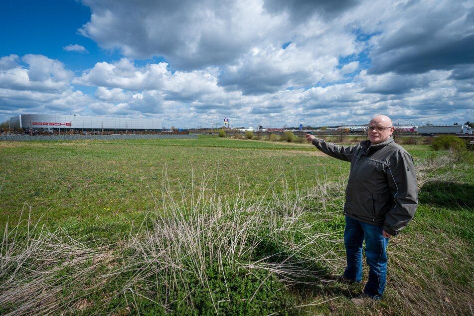 Peter Köhler (59), Geschäftsführer des Regionalbauernverbandes, klagt über die geringe Nachfrage nach Bienen-Patenschaften.