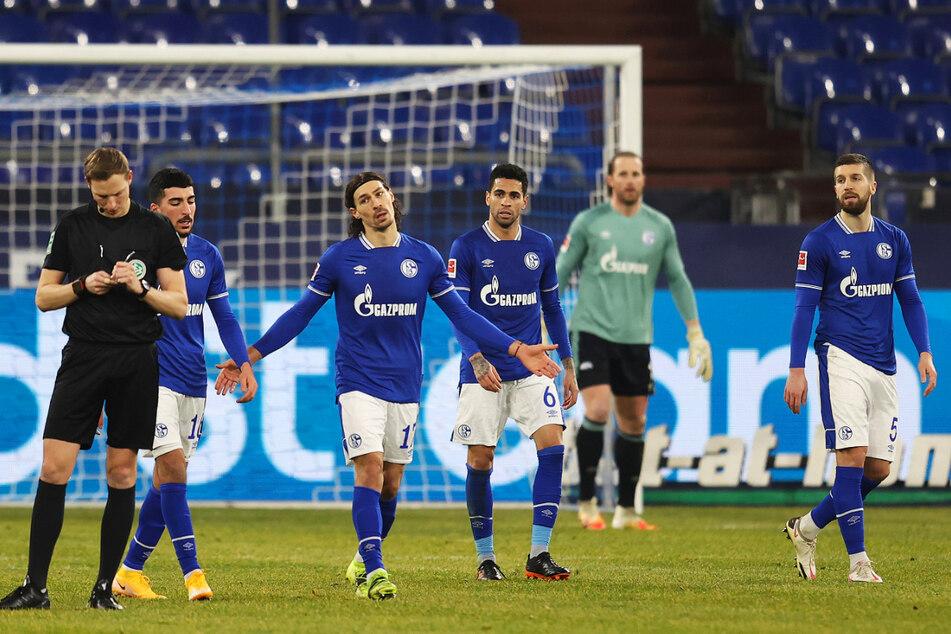 Der FC Schalke 04 steht vor dem Absturz aus der 1. Bundesliga.