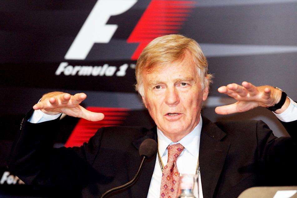 Max Mosley, ehemaliger Präsident des Motorsport-Weltverbands Fia. (Archivbild)