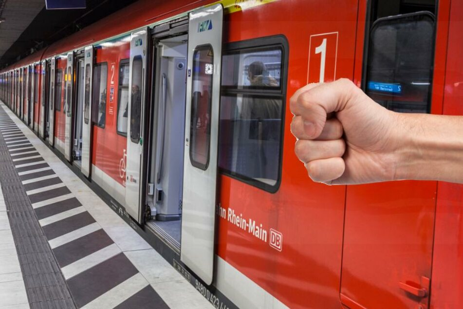 Als der Zugbegleiter den jungen Mann festhalten wollte, wehrte sich dieser sehr aggressiv (Symbolbild).