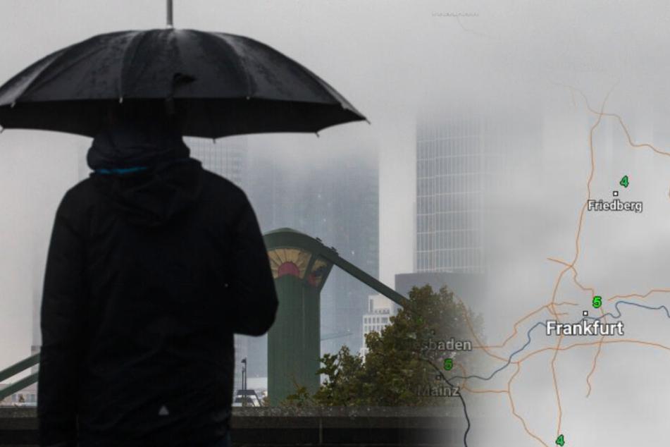 Sonne? Eher Fehlanzeige: Das Hessen-Wetter wird sehr ungemütlich