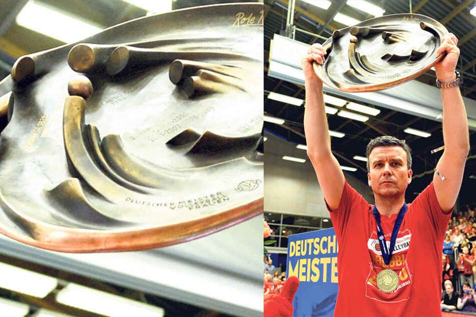 Wie 2016 will Alex Waibl mit dem DSC in dieser Saison das Double holen und die Meisterschale von Schwerin zurück.