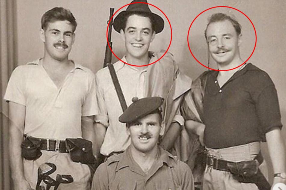 Die Söhne dieser beiden Soldaten sind heute weltberühmte Stars