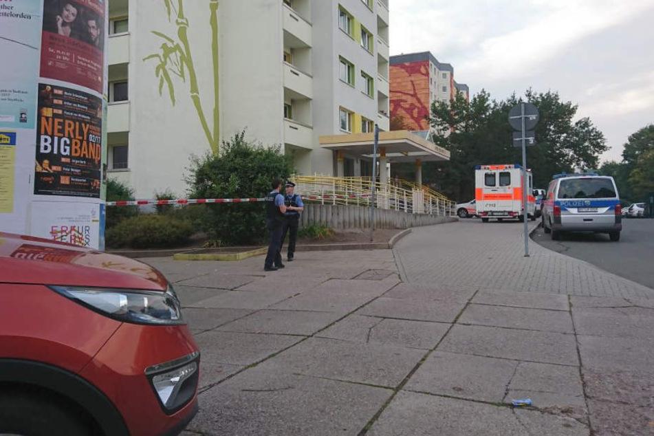 Seit späten Nachmittag läuft ein Einsatz der Polizei auf dem Alfred-Delp-Ring.