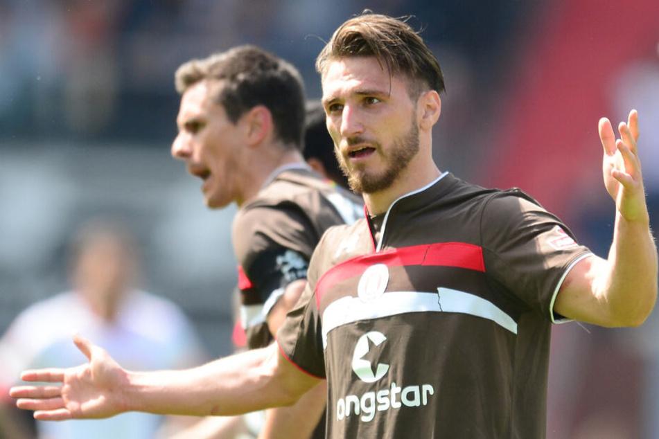 Dimitrios Diamantakos schoss ein Tor für den FC St. Pauli.
