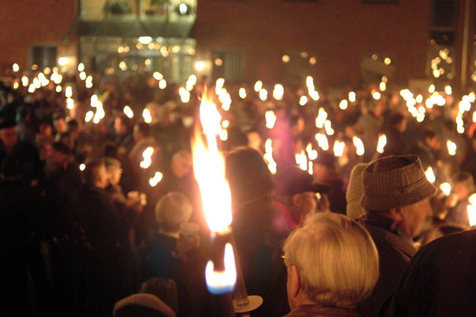Der Fackelmarsch für den 9. November wurde von der Stadt Jena untersagt.