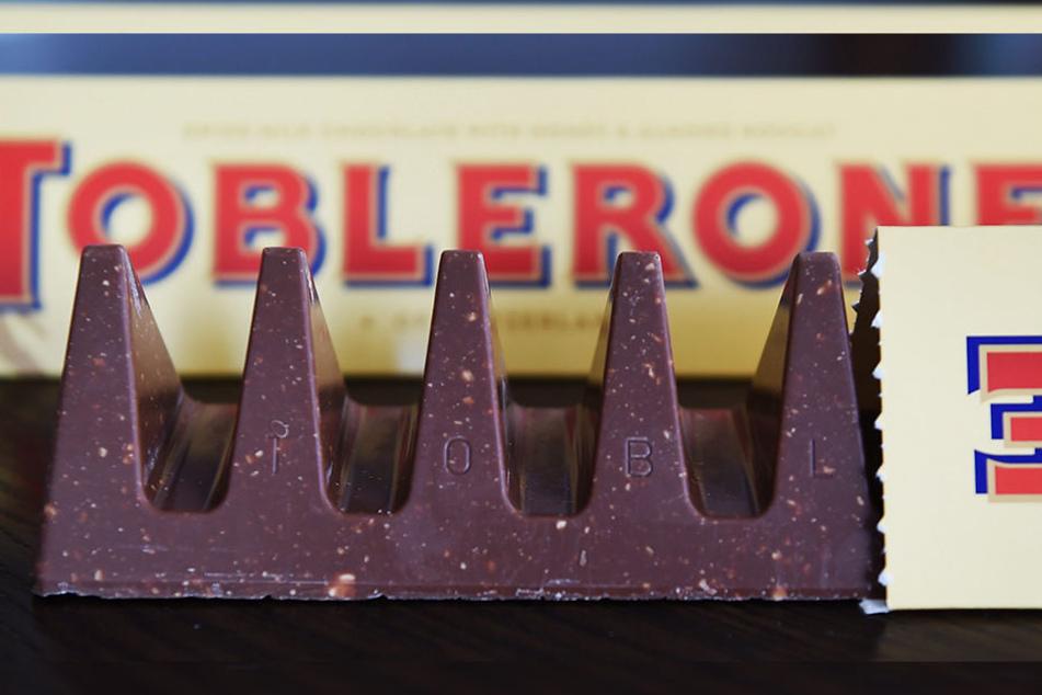 Hatte früher mal mehr Zacken: Toblerone