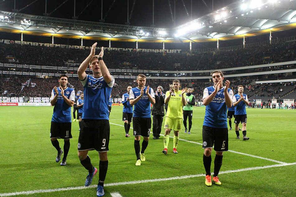 Im Viertelfinale gegen Eintracht Frankfurt war letzte Saison Schluss.