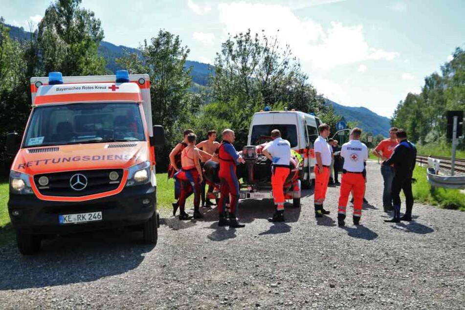 Dei Rettungskräfte konnten den 22-Jährigen nur noch tot bergen.