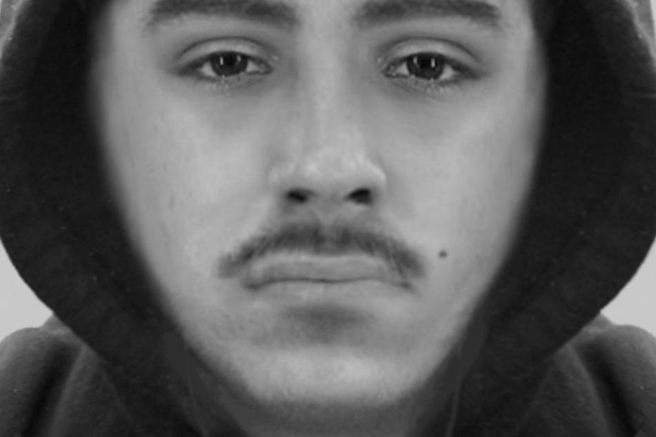 Der Vorfall ereignete sich bereits im November 2017. Nun fahndet die Polizei mit einem Phantombild des Verdächtigen.