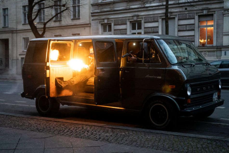 In der Serie geht es um Clans, Neonazis, Rassismus und soziales Elend in Berlin.