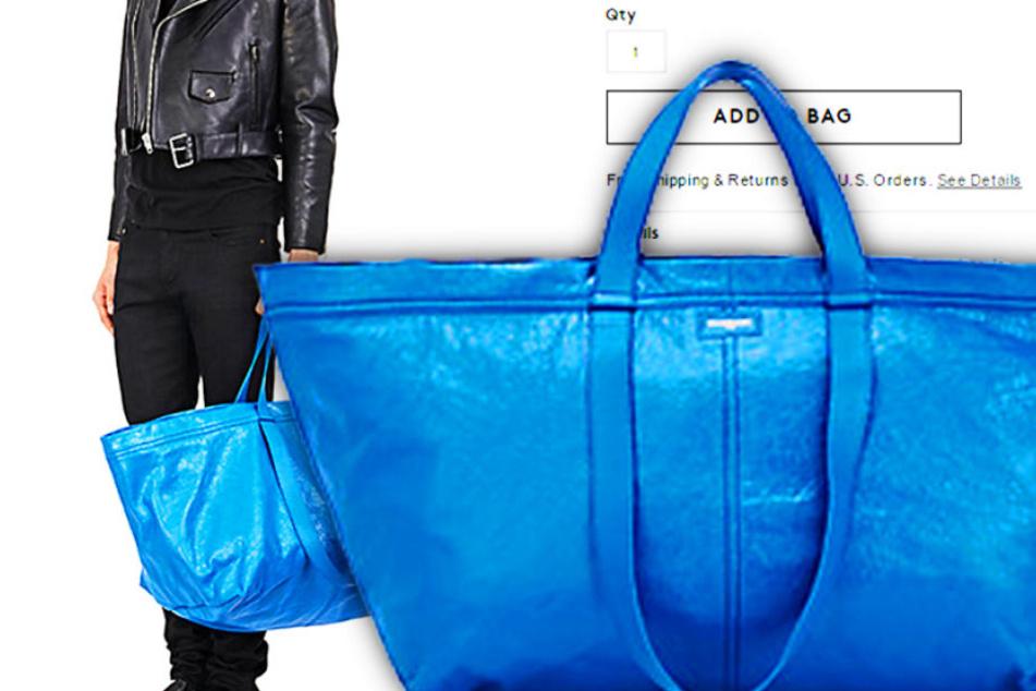 """Diese Tasche verkauft der Edel-Shop """"Barneys"""" für fast 2000 Euro."""