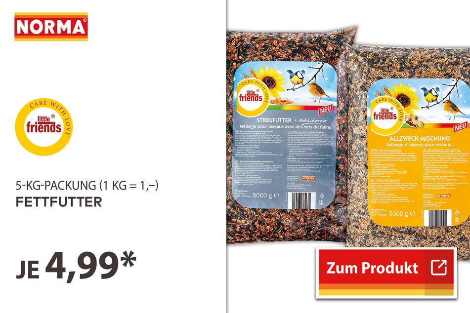 Fettfutter für 4,99 Euro