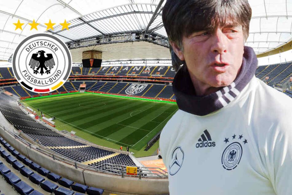 EM-Qualifikation: DFB-Team läuft in Frankfurt auf