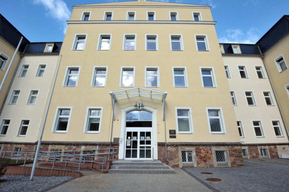 Das neue Domizil des Rechnungshofes in Döbeln muss noch saniert werden.