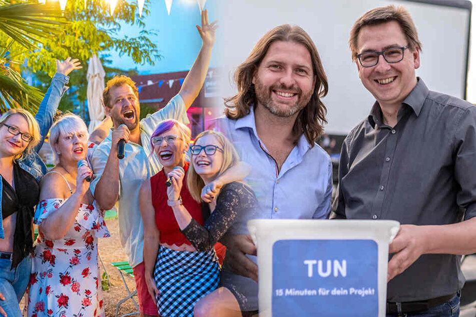 Von wegen Ferien: Chemnitzer Sommer macht Spaß wie noch nie